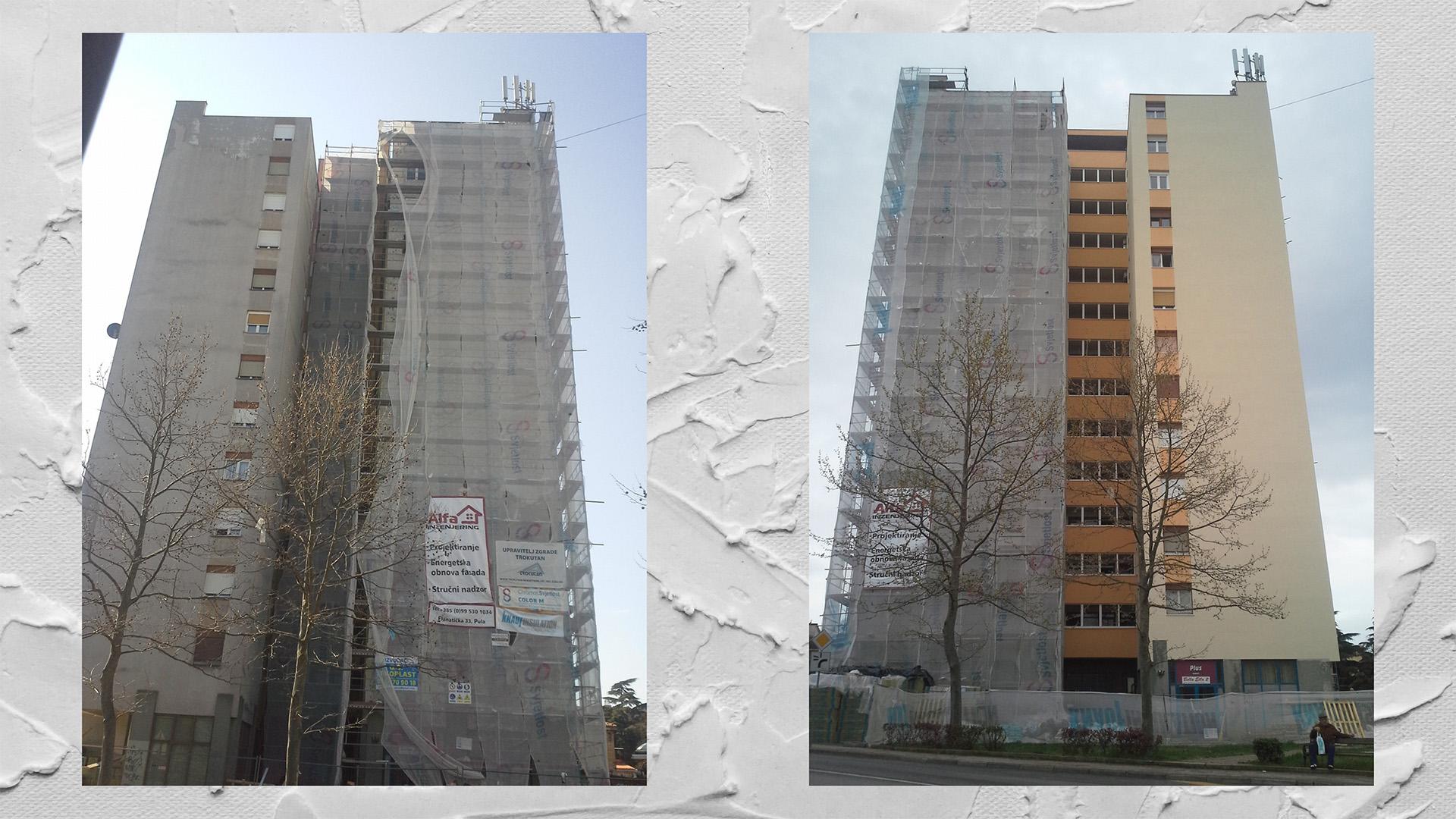 Energetska obnova zgrade - Projekt Kamenjak 7, Pula
