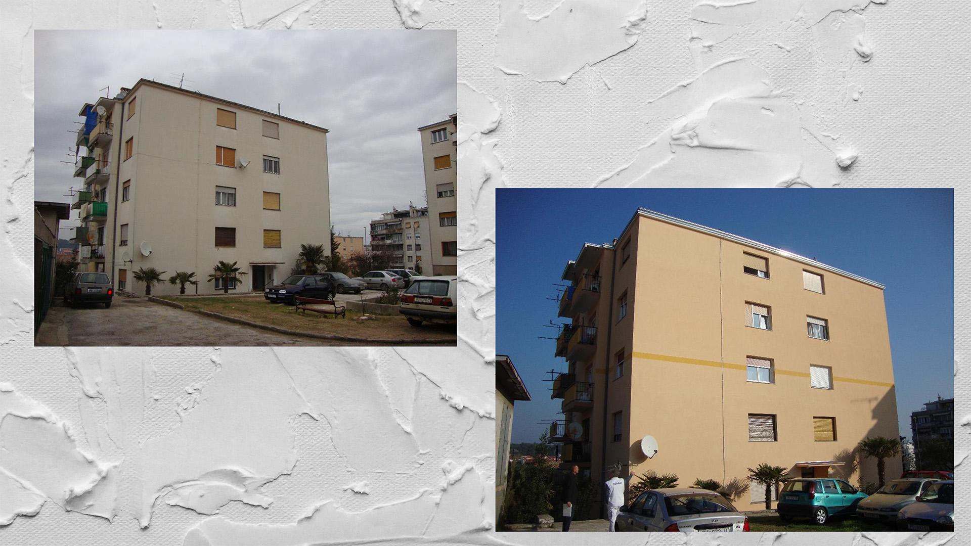Ristrutturazione energetica dell'edificio - Progetto Rakovčeva n. 39, Pula